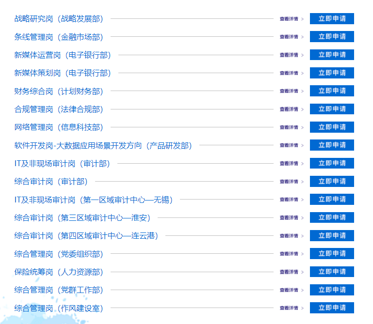 2021江蘇省農村信用社聯合社社會招聘報名有什么要求?