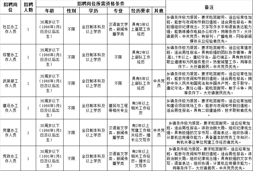 2021合肥包河区大圩镇招聘劳务派遣人员6...